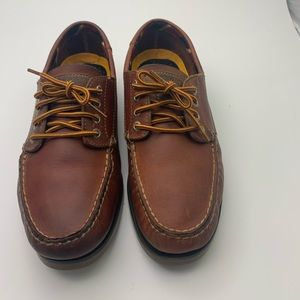 SPERRY Top Sider Brown Ranger 4 Eye Boat Shoes